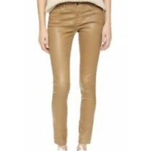 Ag Adriano Goldschmied Pants - AG The Legging Ankle Coated Jeans